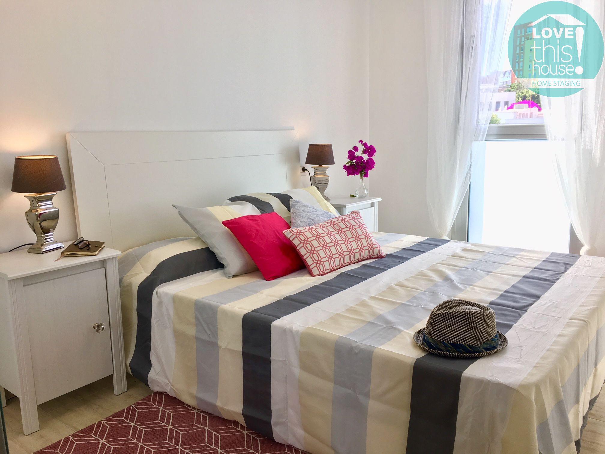 Dormitorio con cama doble - Nivaria