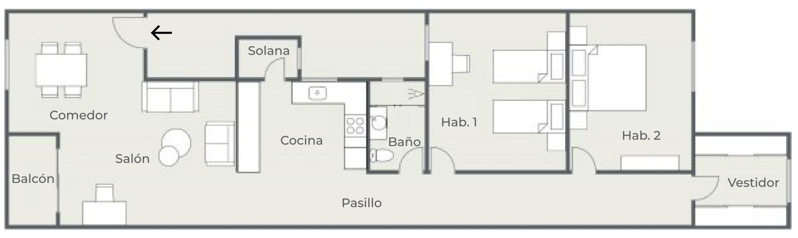 Doctor Guigou - Hotel Mencey - Plano de planta