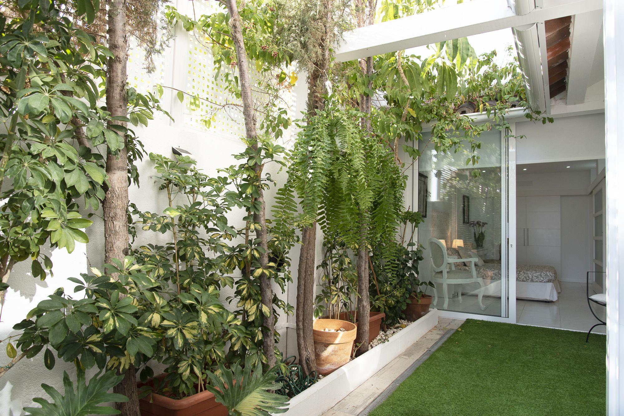 Terraza y habitación 2 - Las Acacias - Club Oliver