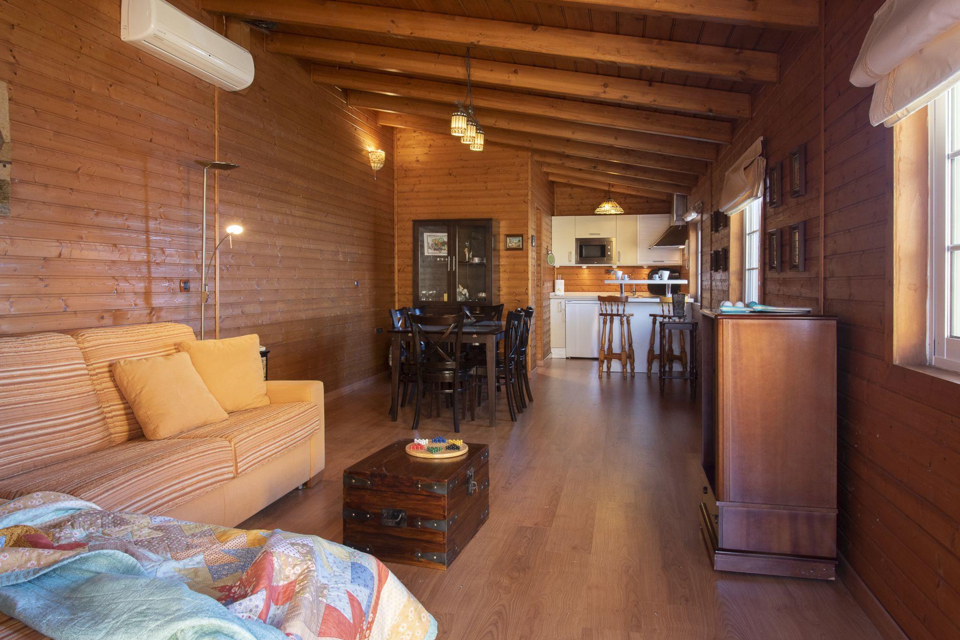 Habitacion invitados. El Sauzal - El Puertito