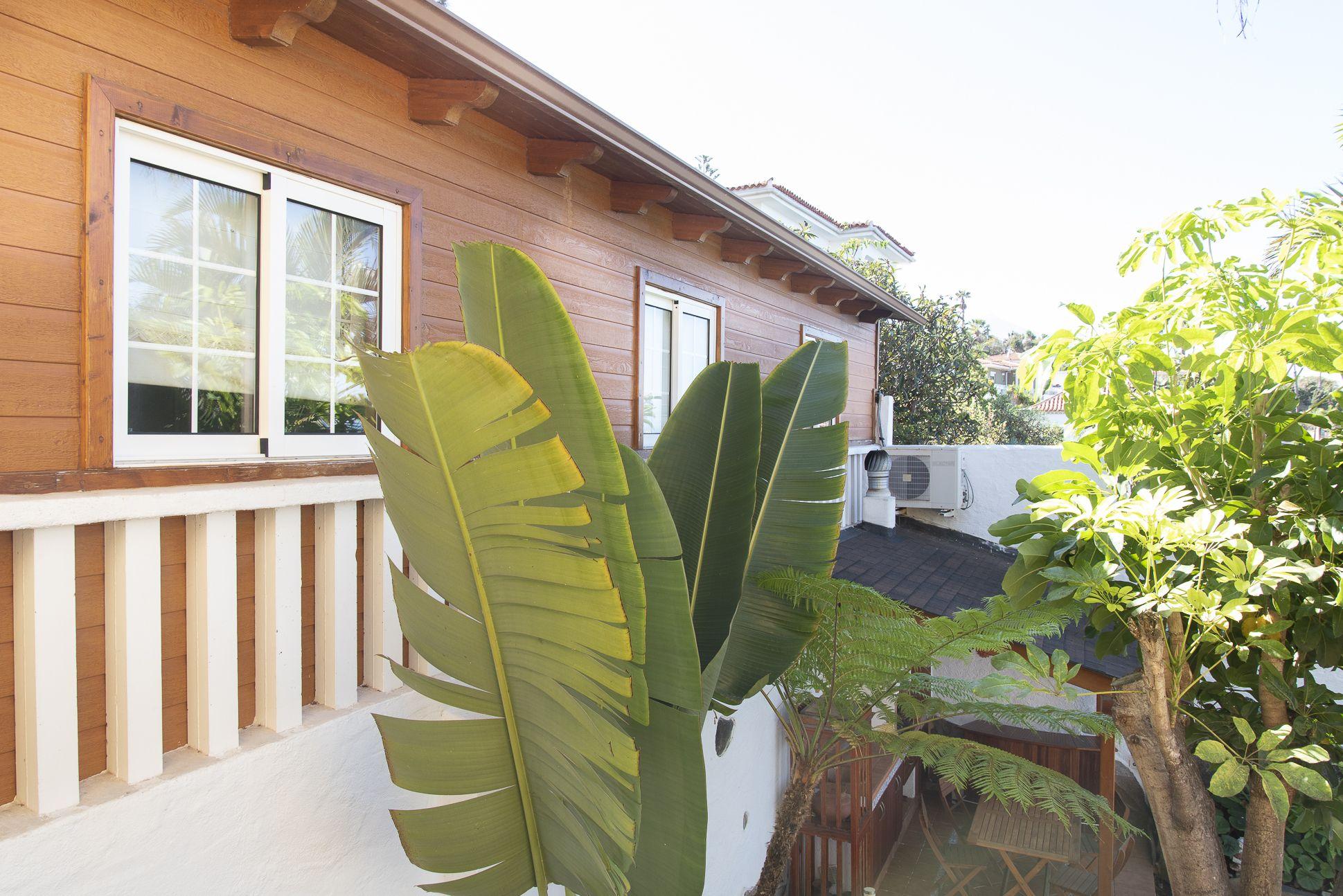 Habitacion invitados, lateral. El Sauzal - El Puertito
