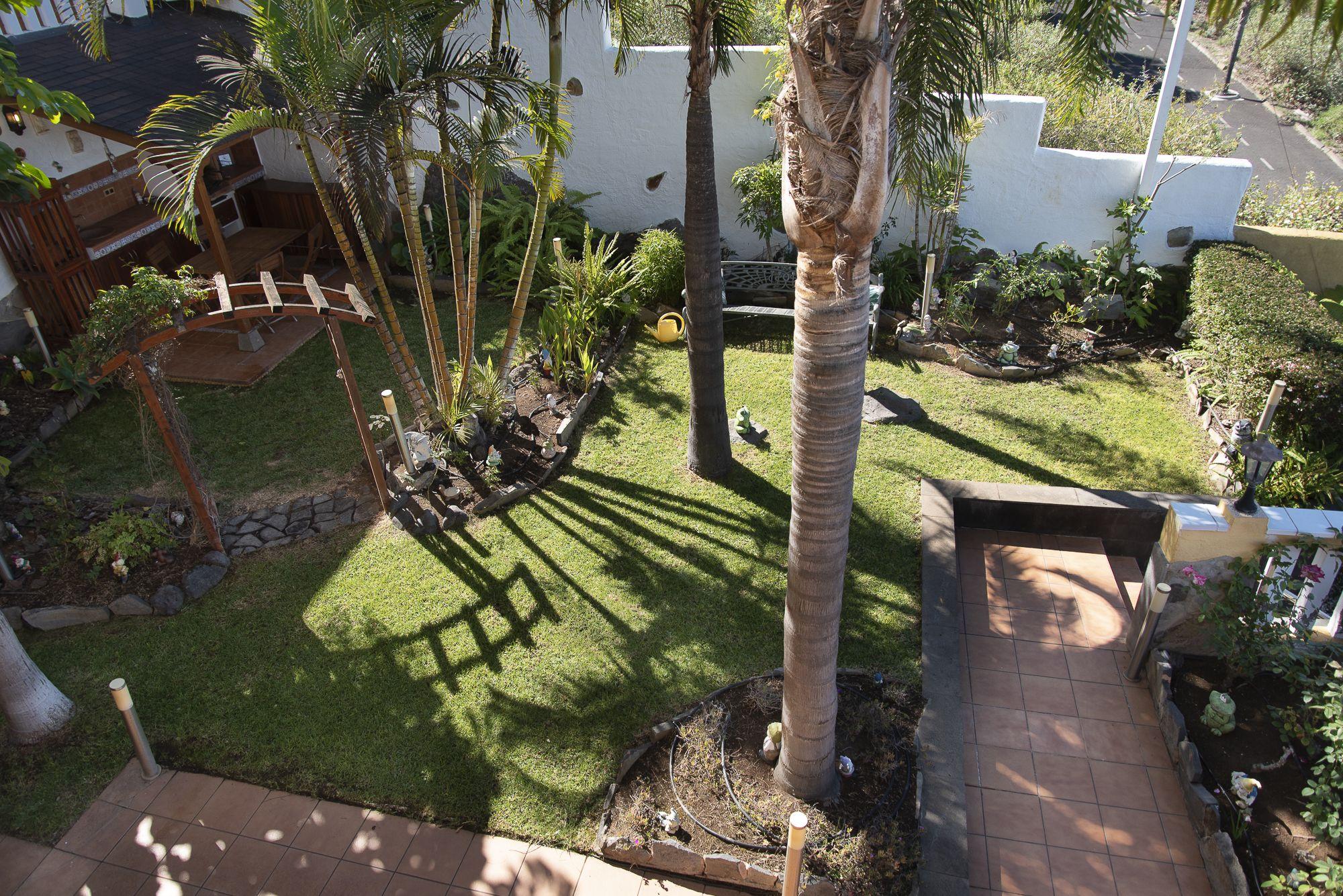 Jardín, vistas desde la entrada. El Sauzal - El Puertito