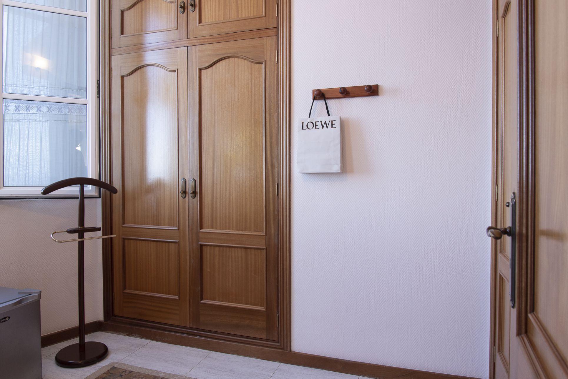 Vestidor en habitación principal. El Sauzal - El Puertito