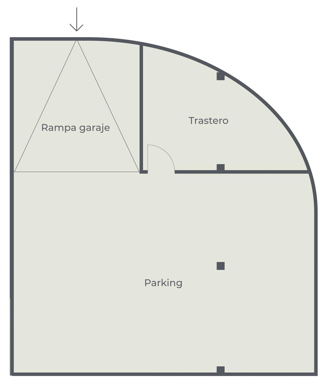 El Porís - Plano, planta 1