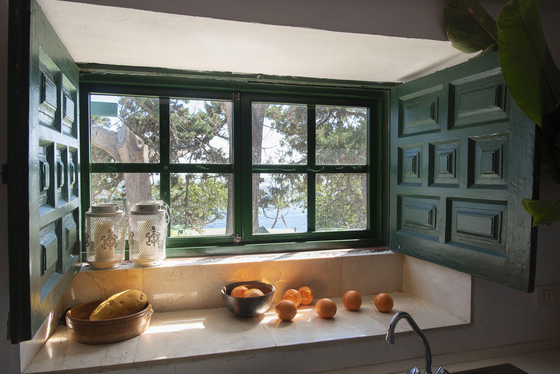 La Casa del Laurel - Ventana de la cocina