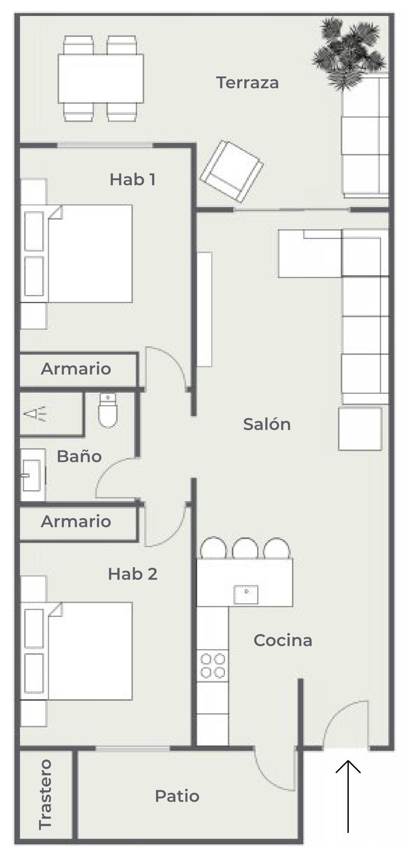 Residencial Cary, El Porís - Plano de planta