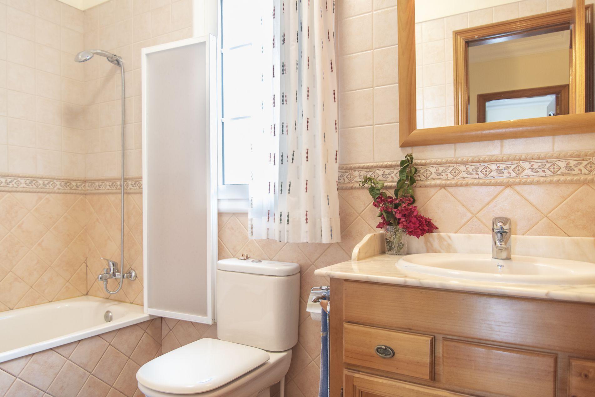 La Casa Azul - Tegueste. Baño 2 planta alta