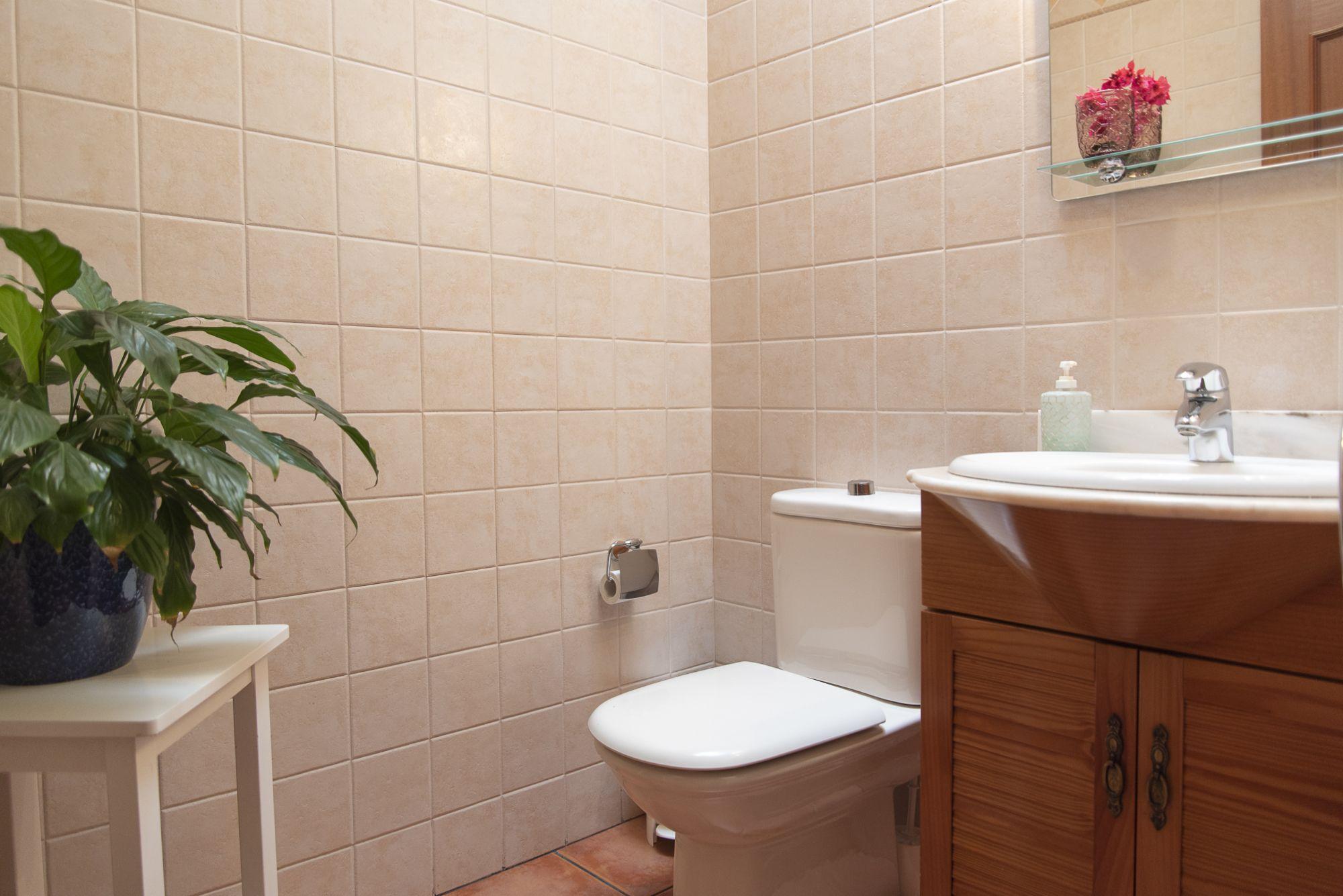 La Casa Azul - Tegueste. Baño planta 1