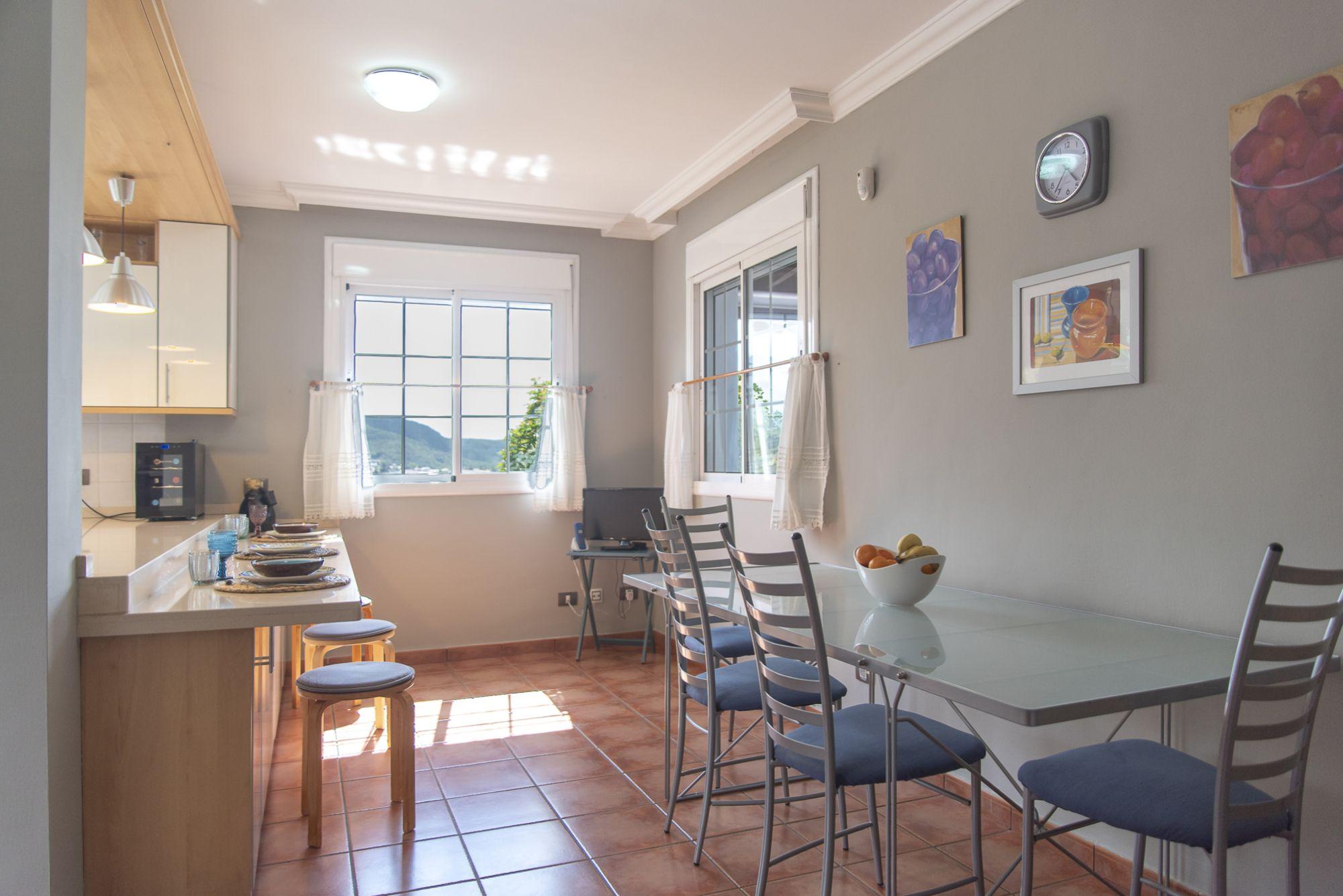 La Casa Azul - Tegueste. Cocina