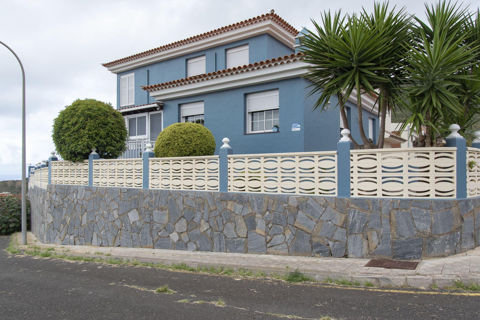 La Casa Azul - Tegueste. Fachada