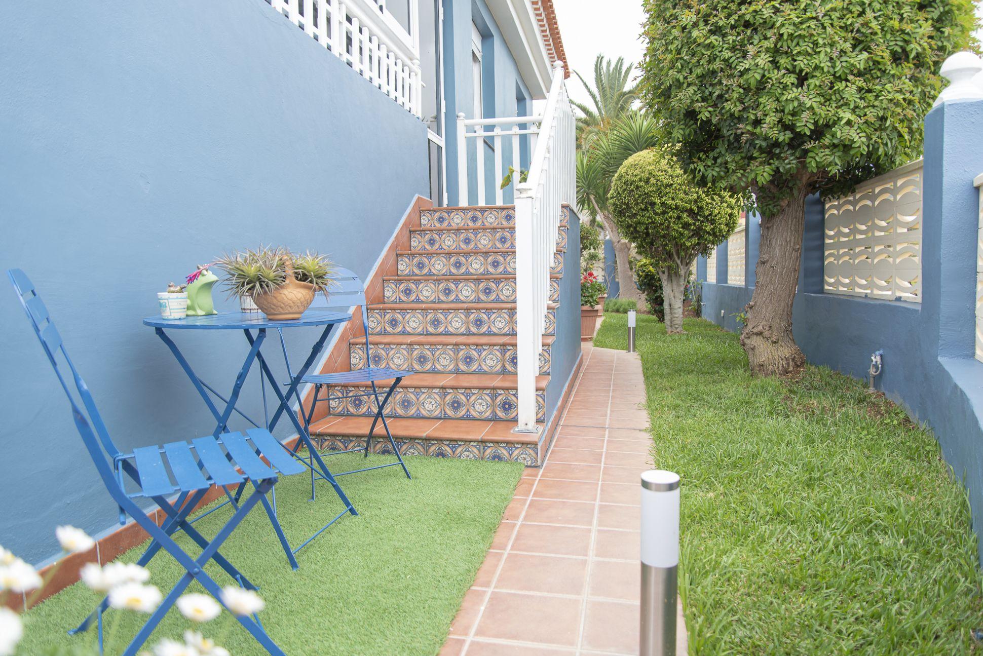 La Casa Azul - Tegueste. Jardín 2