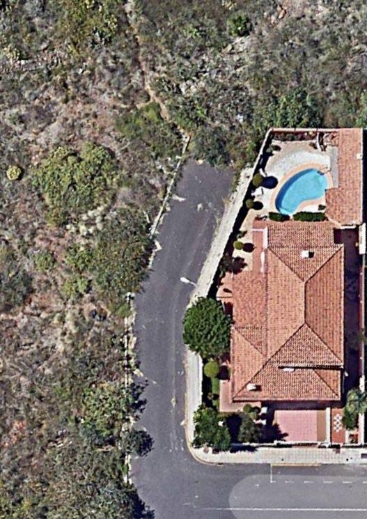 La Casa Azul - Tegueste. Vista aérea